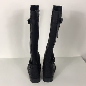 G by Guess Shoes - G by Guess Black Herly Riding Boots